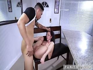 Throat Fuck Gag Choke And Aggressive Teen When A Stranger Calls