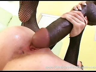 Huge Dildo In Her Pussy