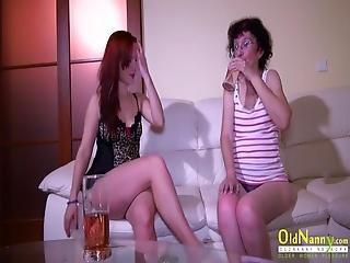 Oldnanny Old And Teen Lesbian Masturbation
