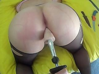 18 Year Old Cut Up, Drill Fucked And Made To Bounce On Cock Till Creampie
