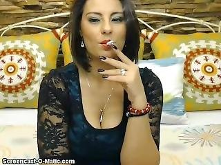 Aishah Smoking 9