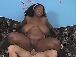 A Slutty Chubby Ebony Baeb Marie Leone As Her Workout Gets Hardcore Fucking