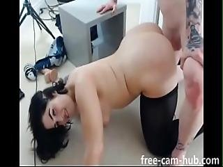 Thick Camgirl Getting Smashed On Set Www.free-cam-hub.com