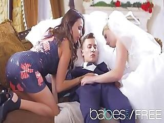Babes - Naked Nuptials Featuring Anissa Kate Violette Pink Charlie Dean