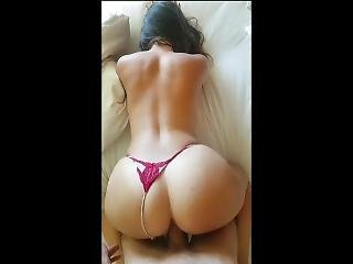 Pawg Next Door Came Over For Some Cock. Massive Load On Her Gorgeous Ass.