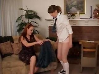 Step-mother Spanked