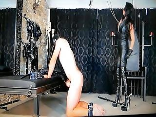 Whip And Masturbation