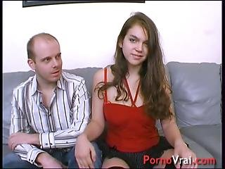 This Young Student Co-ed Is Getting Fucked By All Of Them French Amateur