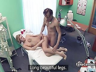 Angry Doctor Gives Nurse Facial