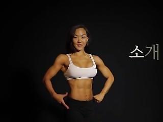 Korean Bodyfitness Girl Lee J. Interview 2