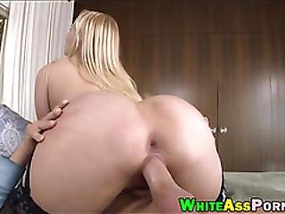 Bubble Butt Vanessa Cage Pussy Wrecked By Fat Hard Dick