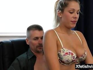 Natural Tits Daughter Fetish And Cumshot