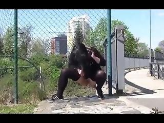 Got2pee Video Black Magic Pantyhose