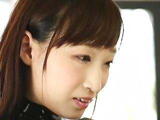 Catsuit Lovers Starring Hasumi Kurea In Black Latex Catsuit
