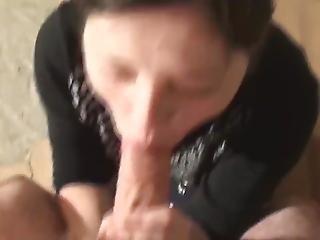 Teen Swallows Sperm
