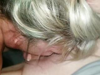 Blonde Milf Quick Deepthroat/gag