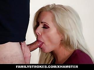Familystrokes Milf Fucks Step Son For Revenge