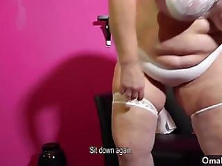 Omahotel Compilation Of Two Grannies Making Striptease