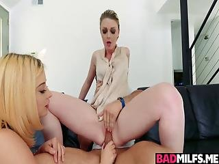 Awesome 3some Session With Harley And Marie