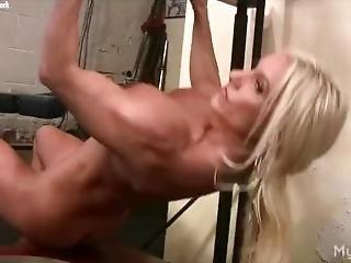 duże cycki, blondynka, łechtaczka, fetysz, siłownia, masturbacja, milf, gwiazda porno