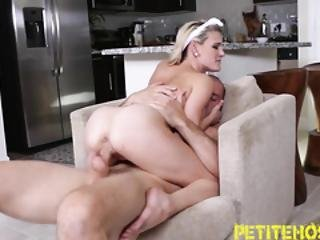Small Tits Blonde Riding