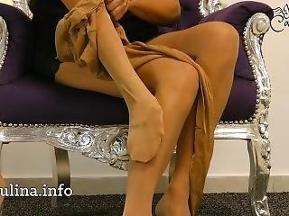 Morena, Fetishe, Alemão, Saltos, Nylon, Cuecas, Collants, Ponto De Vista, Inchado, Só