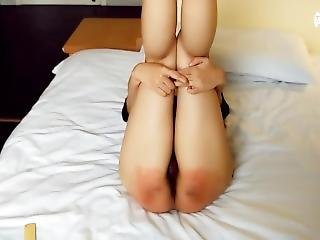Chinese Girl Apple Spanked