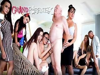 Perverted Oldies Orgy, Part 2