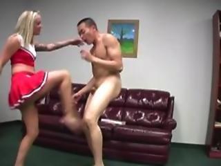 Brutal Femdom Ball Busting 7   Scene 3