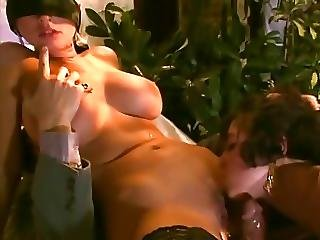 A Buxom Blonde Is Introduced To The Husband Of Her Lover