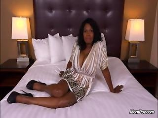 Tyra - 47 Year Old Black Milf Has Epic Natural Tits