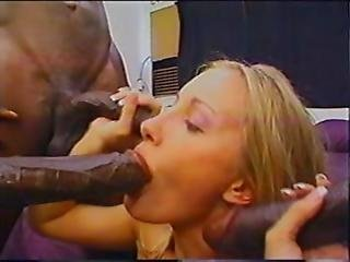 Anal, Ass To Mouth, Banging, Big Black Cock, Black, Blonde, British, Dp, Interracial, Legs, Penetration, Tall