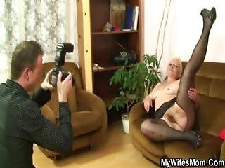 He Makes Dirty Photos With Mother-in-law
