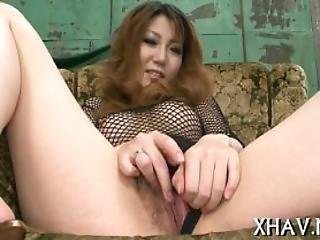 Asian Gets Tits Squeezed And Pussy Licked
