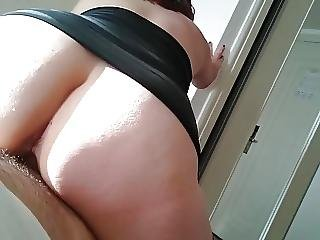 Fucking Roomserice While Cukold Husband At Poolside