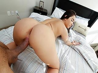 Step Bros Big Meat Doggy Fuck Step Sis Karlee Greys Tight Pussy