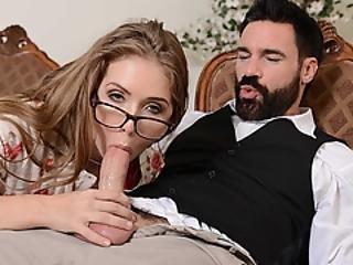 amatør, røv, blond, blowjob, tissemand, doggystyle, fjæsfuckning, fetish, finger, kneppe, briller, hardcore