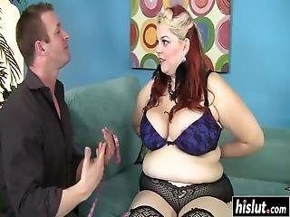 Fat Chick Craves For A Monster Cock