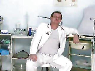 Two Hot Czech Girls Visit Kinky Gyno Doctor