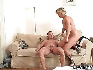 Cute Girlfriends Mom Riding His Cock?from=video Promo