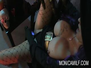 Cosplay, Costume, Dildo, Masturbation, Milf, Pussy, Roleplay