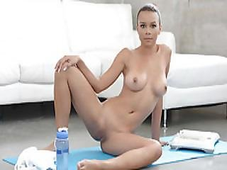 Home Yoga With Raven Redmond Turns Into A Hot Wild Sex Bzhotporns.com