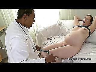 Heavily Preggy Brunette Hair Screwed By Darksome Stud Teats Areola And Pregnant Porn Threatening-menacing 10 Min