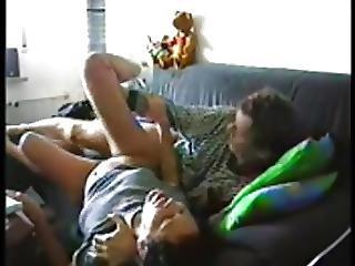 Latina Maid Fucks Boss On Couch