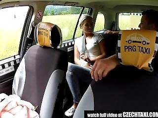 Amateur, Backseat, Blonde, Czech, Reality, Taxi