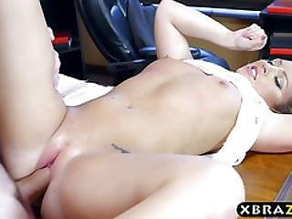 Big Ass Office Bitch Gets Anal Drilled By Her Boss