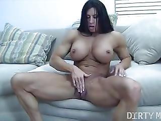 Angela Salvagno Masturbating Her Big Clit