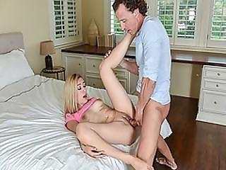 Daddy Start Screwing Alexa Rayes Tight Pussy