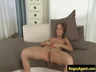 European Beauty Creampied By Casting Agent