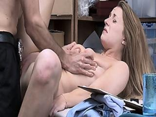 Kate Kenzi Spreads Her Legs For The Lp Officer Wanting To Be Banged